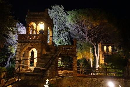 The picturesque Giardino Pubblico, location of the ANS reception. Photograph: UK.