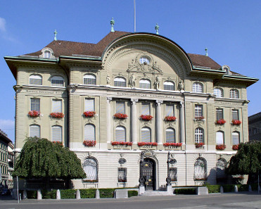 The Swiss National Bank in Bern. Photograph: Baikonur / https://creativecommons.org/licenses/by-sa/3.0/deed.en