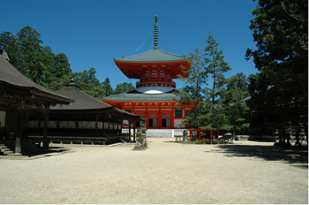 The Danjo Garan Temple Complex, located in Wakyama, the 42nd Prefecture of Japan.