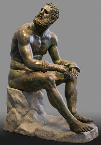 Seated Boxer,