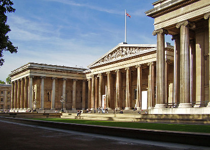 The British Museum, the new working place of Hartwig Fischer. Photograph: Ham / https://creativecommons.org/licenses/by-sa/3.0/deed.en