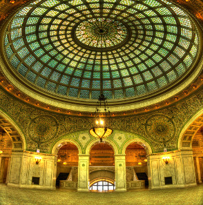 This will be the new coin show's location: the Chicago Cultural Center. Photo: Rob Saker / Wikipedia, CC 3.0.