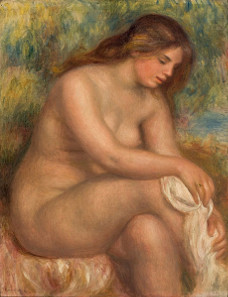 One of the works which members of RSAP disapprove of: Pierre-Auguste Renoir,