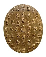 Highlight of the Coin Cabinet at the Kunsthistorisches Museum Wien: The alchemical medallion weighing more than 7 kilo! Photo: Coin Cabinet / Kunsthistorisches Museum Wien.
