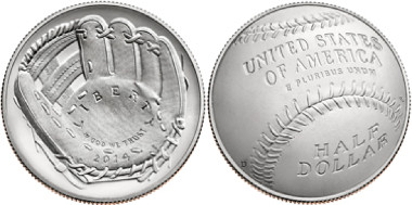 The United States Baseball Hall of Fame cupped clad half dollar has been named Coin of the Year after winning the Most Innovative Coin award.