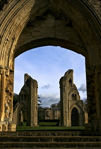 The former Benedictine Abbey of Glastonbury in the English county of Somerset. Photograph: IDS.photos, Tiverton UK /https://creativecommons.org/licenses/by-sa/2.0/deed.en.