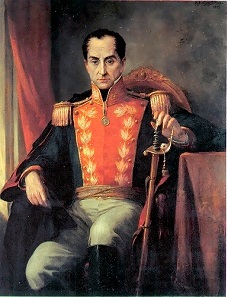 Ricardo Acevedo Bernal, portrait of Simón Bolívar. Source: Wikicommons.