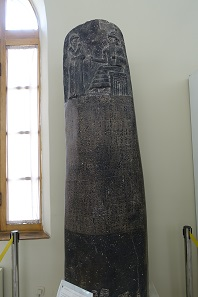 The Code of Hammurabi ... as a copy. Photo: KW.