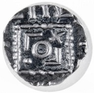 Anglo-Frisian, c. 700, silver sceatta. Source: Princeton University Numismatic Collection, Department of Rare Books and Special Collections, Firestone Library.