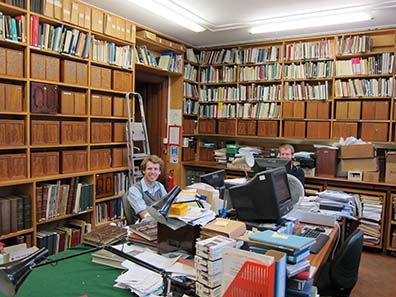 The back study room. Photograph: UK.