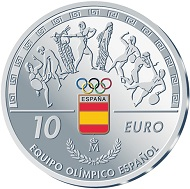 Spain / 10 euros / 925 silver / 27g / 40mm / Mintage: 7,500.