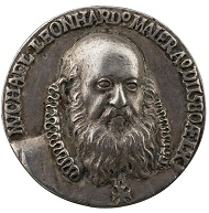 Baldwin Drentwett (1545-active until 1627), Michael Leonhard Maier, 1580. Silver, 41.6 mm. Stephen K. and Janie Woo Scher Collection. Photo: Michael Bodycomb.