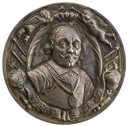 Wouter Müller (1604-1673). Maarten Harpertszoon Tromp (Lieutenant-Admiral of Holland), 1653. Silver, 75.0 mm. Stephen K. and Janie Woo Scher Collection. Photo: Michael Bodycomb.
