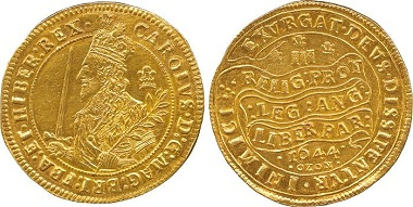 Lot 999: Charles I (1625-1649), Gold Triple Unite, 1644. Sold: £74,400.