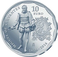 Spain / 10 Euros / Silver .925 / 27g / 40mm / Mintage: 7,500.