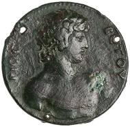 Bronze Coin, Mantineia, AD 130. ID 1967.152.356. © Photo: American Numismatic Society.