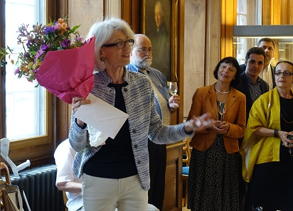 Hortensia von Roten at the farewell celebration. Photo: UK.