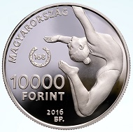 Hungary / 10,000 Forint / Silver .925 / 37mm / 24g / Design: Andreas Horváth / Mintage: 5,000.