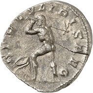Denarius, Cologne, beginning of 268. Rev. HERCVLI PISAEO Hercules swinging a hoe, before him, a fountain vessel as a symbol of the Alpheus. From the forthcoming Jacquier Auction 42 (16.9.2016), Lot 583. Almost extremely fine. Estimate: 7,000 euros.