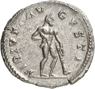 Antoninianus, Cologne, 267. Rev. VIRTVTI AV-GVSTI Hercules r. From the forthcoming Jacquier Auction 42 (16.9.2016), Lot 567. Extremely fine. Estimate: 400 euros.