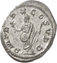 Antoninianus. Cologne, beginning of 269. Rev. PM TR - P X COS V P P Emperor. From the forthcoming Jacquier Auction 42 (16.9.2016), Lot 602. Extremely fine. Estimate: 1,000 euros.