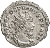 Antoninianus, Trier, beginning of 269. Rev. PACATOR ORBIS Sol to the r. From the forthcoming Jacquier Auction 42 (16.9.2016), Lot 609. Extremely fine. Estimate: 500 euros.
