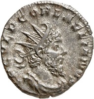Laelianus. Antoninianus, Cologne. From the forthcoming Jacquier Auction 42 (16.9.2016), Lot 701. Extremely fine. Estimate: 1,800 euros.