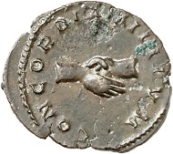 Marius. Antoninianus, Trier. From the forthcoming Jacquier Auction 42 (16.9.2016), Lot 704. Almost extremely fine. Estimate: 800 euros.