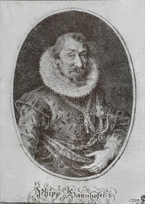 Philipp Hainhofer, copperplate engraving by Lucas Kilian.