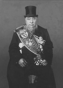 Paul Kruger at his fourth inauguration as president of the South African Republic in 1898. Provincial Archives of the Free State, Pretoria. Collection Dr. Hendrik Muller, photo collection no. VA0952.