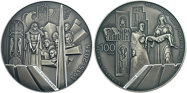 Armenia was the winner in the category 'Coin of the year'.