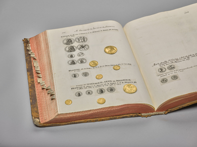 Valentin Jameray Duval's Monnaies en or, 1759. Oldest collection catalogue. © KHM-Museumsverband.