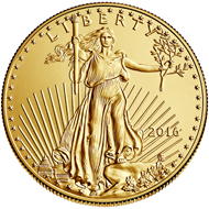 The American Eagle in gold has been issued since 1986. Photo: US Mint.