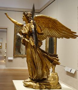 Victoria, impression of a figure of the memorial for William Tecumseh Sherman by Augustus Saint-Gaudens. Metropolitan Museum of Art / Photo: Ursula Kampmann.