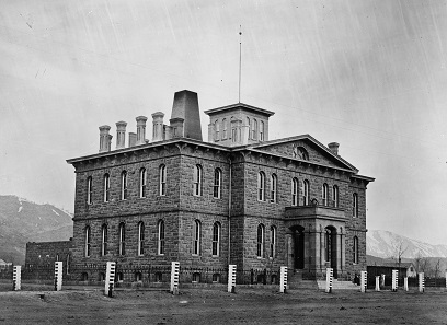 Carson City Mint. Source: Library of Congress / Wikipedia.