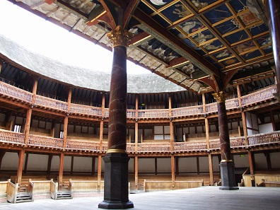 Reconstruction of the Globe Theatre. Photo: Tohma / GDFL.