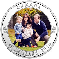 Canada / 20 Dollars / Silver .9999 / 31.39g / 38mm / Design: Chris Jelf (reverse) and Susanna Blunt (obverse) / Mintage: 10,000.