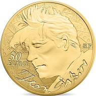 France / 50 euros / .920 gold / 22 mm / 8.45 g / Mintage: 500.