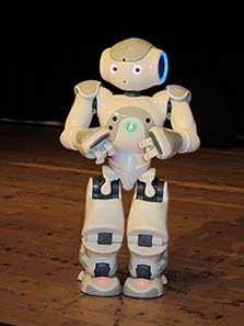 Little robot Hansi was the most popular representative of the Austrian Mint at the World Money Fair. Photo: UK.