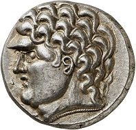 Lot 5: Celts. Imitation of Philip II. Kroisbach mit Reiterstumpf type. Tetradrachm, ca. 100-50 BC. Extremely fine to FDC. Estimate: 3,000,- euros. Hammer price: 5,000,- euros.