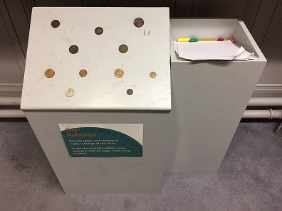 The exhibition made numismatics accessible to younger visitors through the use of fun features such as coin rubbing. Photo: Henry Flynn.