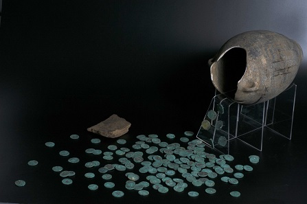 The Wold Newton Hoard belongs now to the Yorkshire Museum. Photo courtesy of York Museums Trust.