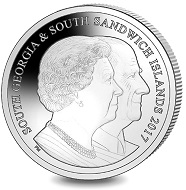 Platinum Set: 70 Years of HM Queen Elizabeth II & HRH Prince Philip - Prince Philip at the Queen's 90th Birthday / Platinum / 28.00 g / 6.22 mm / Mintage: 650.