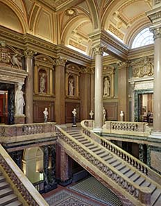 The magnificent entrance to the collection galleries. Image: Fitzwilliam Museum.