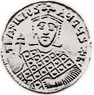 Fig. 1: Forgery of a solidus of Basil I.