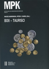 Maciej Karwowski, Peter C. Ramsl (eds.), Boii – Taurisci. Proceedings of the International Seminar, Oberleis-Klement, June 14th-15th, 2012. Mitteilungen der Prähistorischen Kommission Bd. 85. Verlag der Österreichischen Akademie der Wissenschaften, Vienna 2016. 271 pages with color and b/w illustrations, 29.7 x 21 cm. Paperback. ISBN: 978-3-7001-7740-1. 79,90 euros.