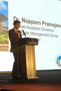 Nopporn Pramojaney, Retired Assistant Governor, Banknote Management Group of the Bank of Thailand.