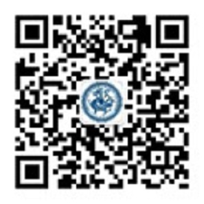 The QR-code linking to the IHACOINS Wechat account.