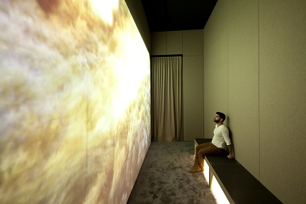"The exhibition ""The Archives of Human Diversity"". Sound cabin. Artistic director: Ange Leccia. Photo: © Daniel Stauch."