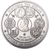 Spain / 300 euros / .999 silver / 100mm / 1,007g / Mintage: 1,000.
